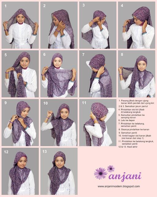 Tutorial Hijab Terbaru: Tutorial Hijab Pashmina