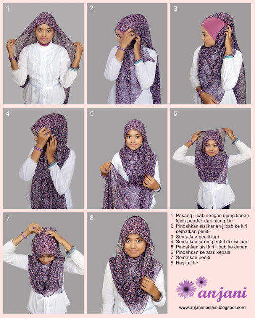 published september 16 2013 at 513 640 in tutorial hijab