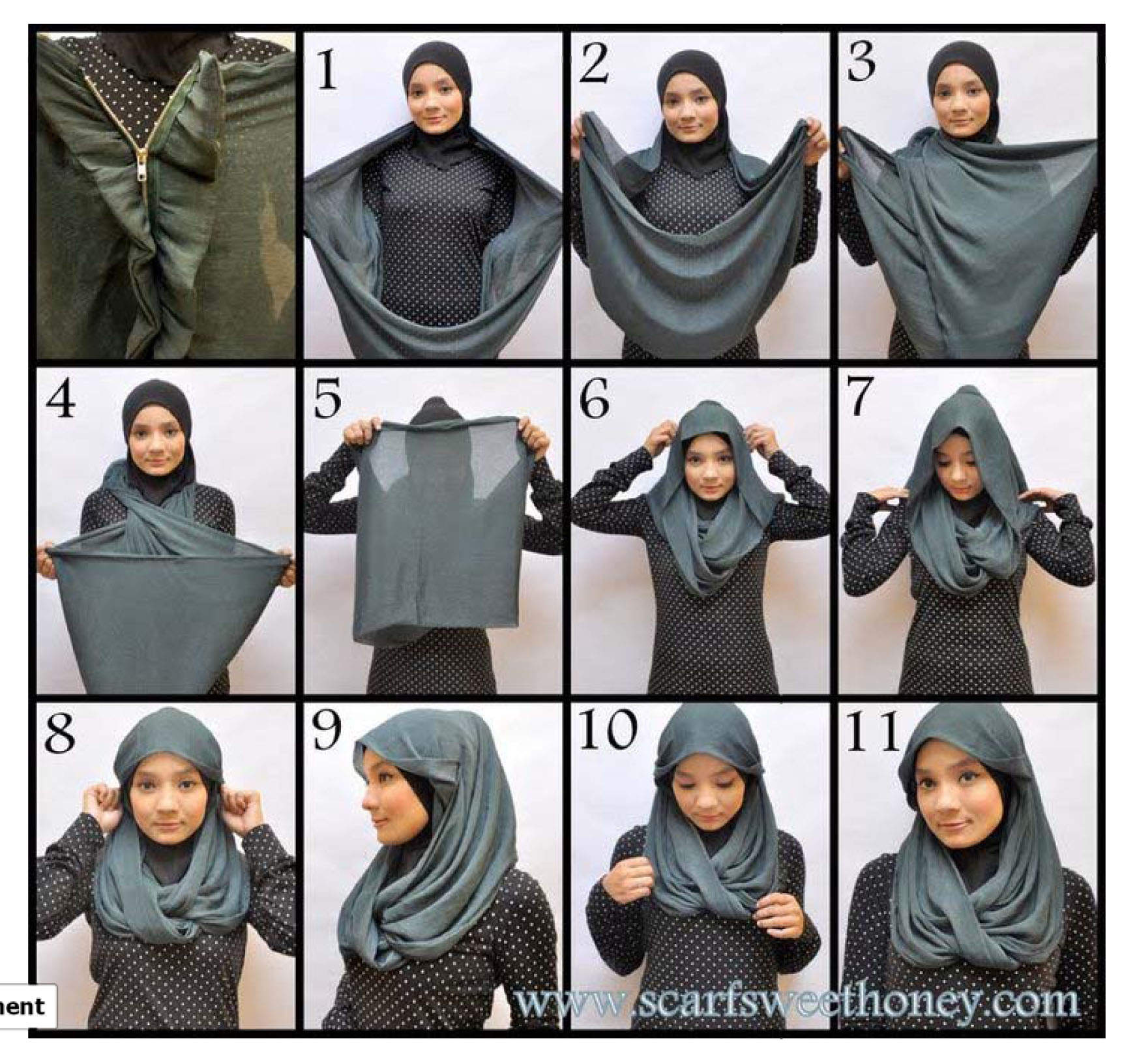 Tutorial Outfit For Hijab Style Think Creative